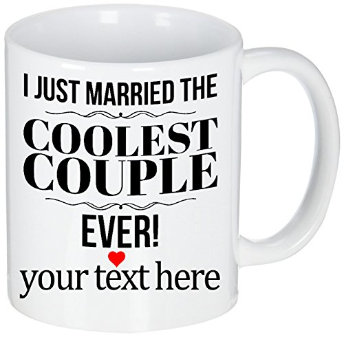 Personalized Wedding Officiant Mug - I Just Married the Coolest Couple Ever - Funny Gift Mug for Reverend | Pastor | Minister | Priest | Preacher - They Will Laugh and Love It! - 11 oz Ceramic