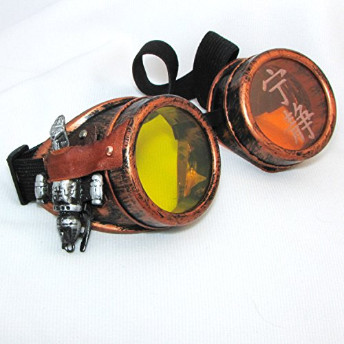 Browncoats Costume (Firefly Steampunk Goggles Costume |Accessory)