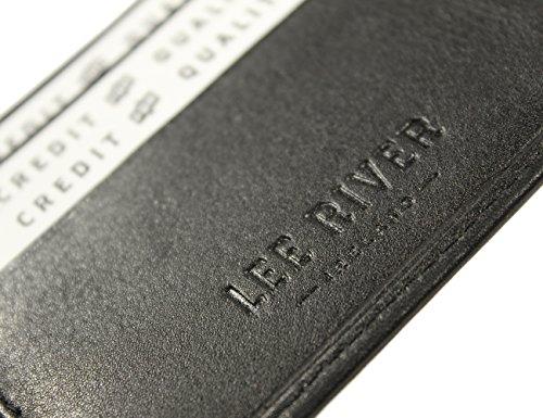 Irish Leather Wallet Black Celtic Wolf Hound Design Ireland Made by Biddy Murphy (Image #2)