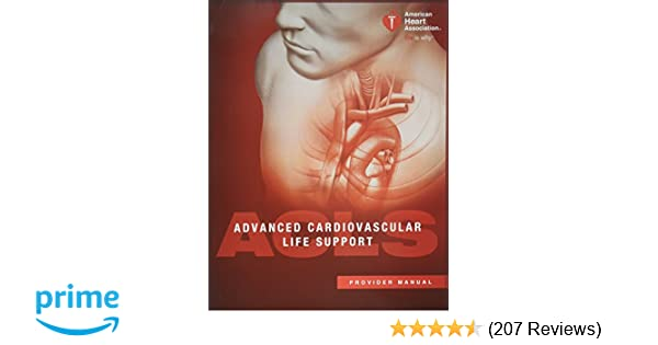 advanced cardiovascular life support acls provider manual
