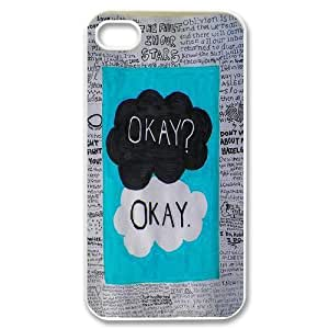 Personalized New Print Case for Iphone 4,4S, Okay Phone Case - HL-709679