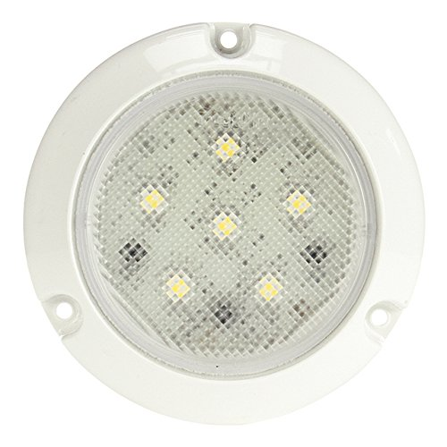 Truck-Lite 44439C Super 44 Series Clear 6 Diode Surface Mounted LED Interior Dome Lamp