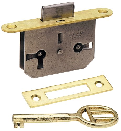Platte River 942949, Hardware, Locks And Latches, Mortised Locks, Full Mortise Inset Door (Full Mortise Cabinet Lock)