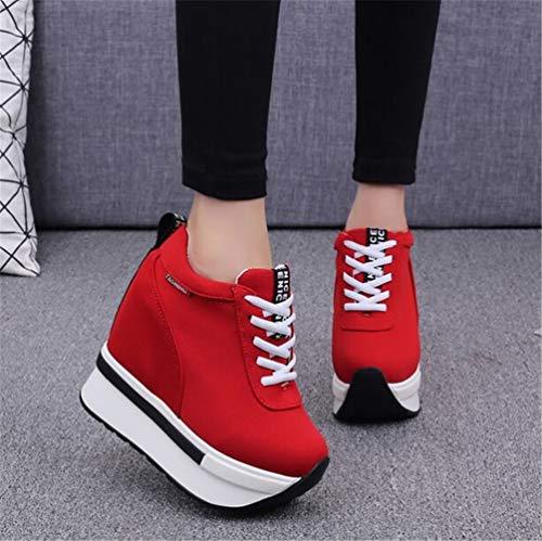 Plataforma Mujeres tal Ocultos Plataforma Mujeres Zapatos qgxzw