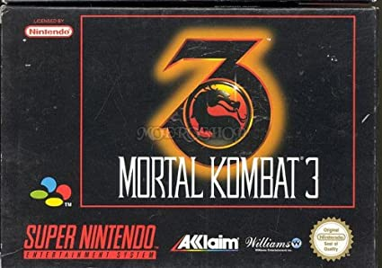 Mortal kombat 3 - Super Nintendo - PAL: Amazon co uk: PC