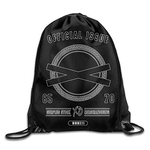 CHALZ The Weeknd XO Logo Drawstring Bags White