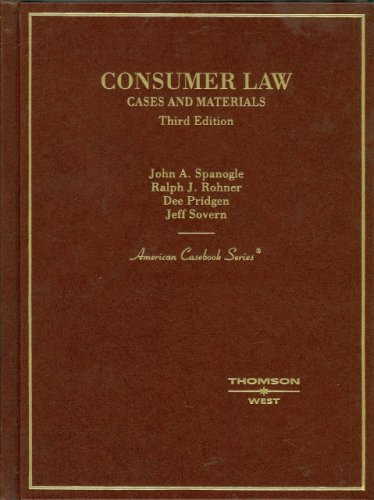 Consumer Law (English and English Edition)