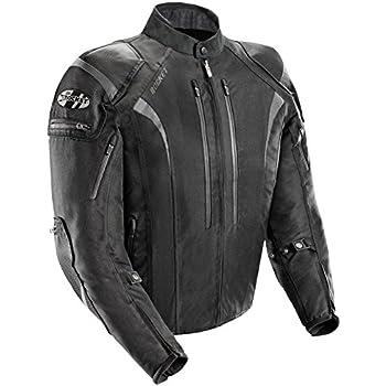 Joe Rocket Atomic Men's 5.0 Textile Motorcycle Jacket (Black, Large)