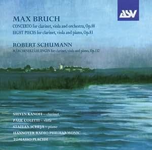 Cto For Clar/Viola/Orch/Marche