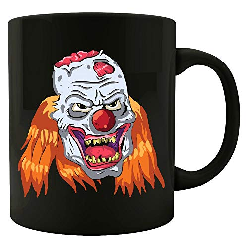 Mad Orange-haired Zombie Clown - Colored Mug ()