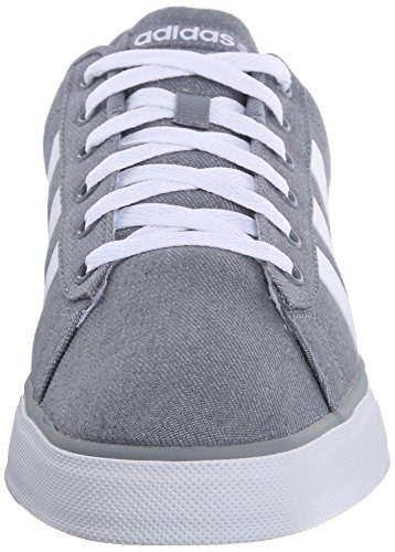 Adidas Neo Se Daily Vulc estilo de vida que anda en monopatín de zapatos, gris / blanco / gris, 13 Grey/White/Grey