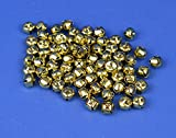 48 Gold 13mm Jingle Bells for Crafts | Craft Bells