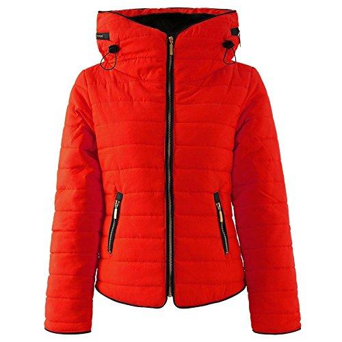 Forever Famous - Chaqueta - abrigo - para mujer Rosso