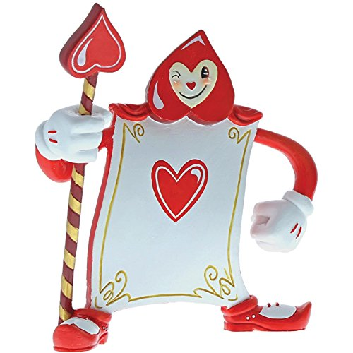 The World of Miss Mindy Disney A29380 Card Guard Ace of Hearts Alice in Wonderland Figurine -