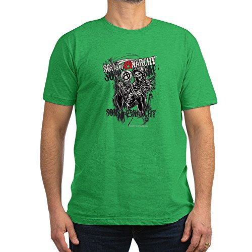 CafePress Sons Of Anarchy Reaper - Men's Fitted T-Shirt, Stylish Printed Vintage Fit T-Shirt