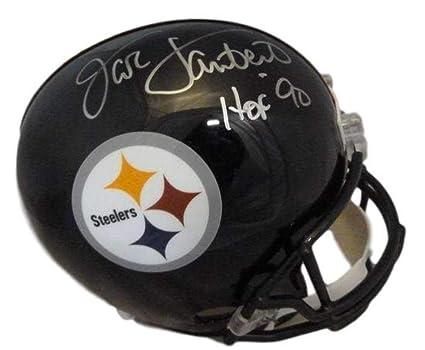 17d8bea1f39 Amazon.com  Jack Lambert Signed Helmet - Replica HOF 12035 - JSA Certified  - Autographed NFL Helmets  Sports Collectibles