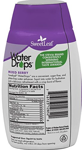 SweetLeaf WaterDrops, Mixed Berry, 1.62 Ounce by SweetLeaf (Image #3)