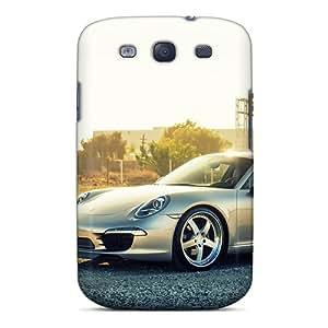 Premium Porsche 991 Carrera Covers Skin For Galaxy S3