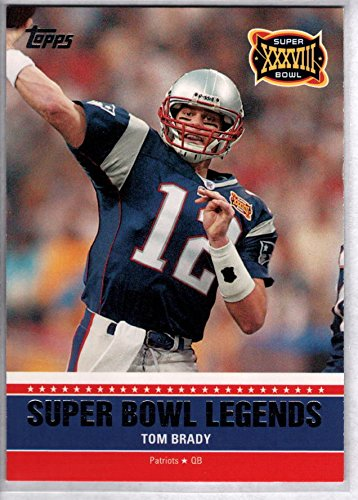 TOM BRADY 2011 Topps Super Bowl Legends - Super Bowl Legends 2011