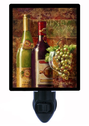 Kitchen and Bar Night Light, Vino D'Annata, -