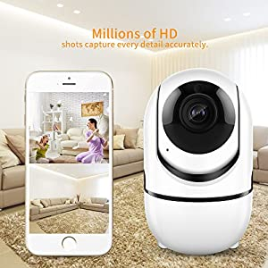Wireless Security WiFi Camera,ANBAHOME IP Camera for Home Security Surveillance Baby/Pet Monitor with PTZ Two Way Audio Motion Detection Night Vision. from Shen Zhen Shi Yi Fang Kong Jian Wen Hua Fa Zhan You Xian Gong Si