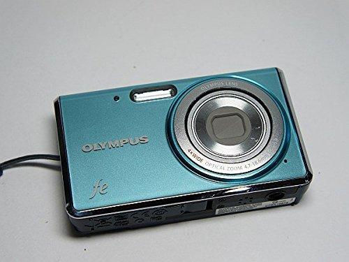 美品 FE-4020 ライトブルー OLYMPUS