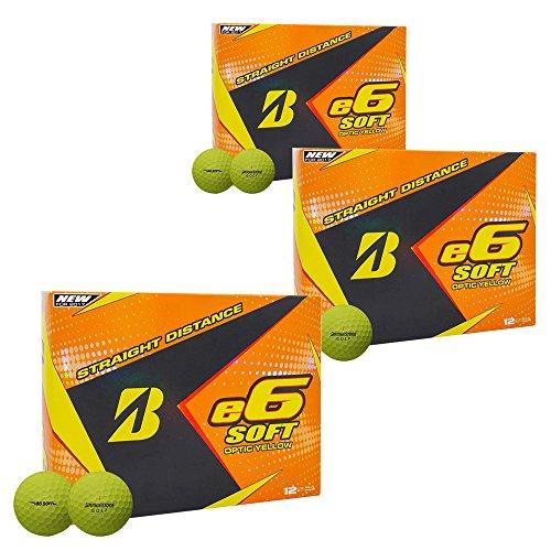 Bridgestone E6 Soft Golf Balls (3 Dozen) 2017 3 Dozen Yellow by Bridgestone