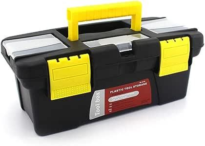 DYHM Caja de Herramientas Caja de Herramientas portátiles de plástico de Hardware del hogar multifunción Mantenimiento de Coches Caja de Herramientas Caja de Almacenamiento Caja de Anti-caída: Amazon.es: Hogar
