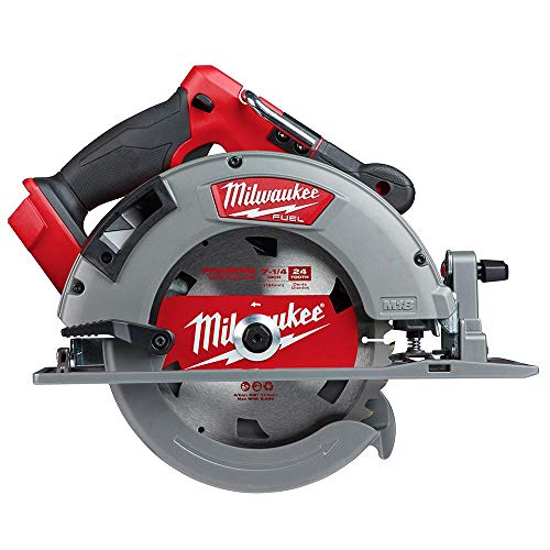 Milwaukee 2732-20 M18 Fuel 18 Volt Lithium-Ion 15 Amp 7-1/4 Inch Cordless Circular Saw (Tool Only) (Non-Retail Packaging…