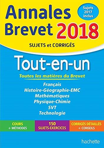 Annales Brevet 2017 Le Tout-en-un 3e - Nouveau Programme 2016 French Edition