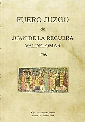 Fuero Juzgo de Juan de la Reguera Valdelomar, 1798 Leyes ...