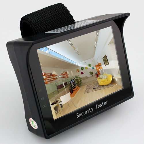Sourcingbay Portable Video Security Tester Screen Cctv Camera TFT LCD Audio Test Monitor Wb by Sourcingbay