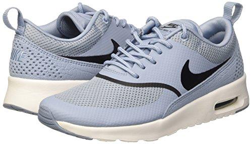De Air Deporte black Nike Mujer Max Wmns Summit Grey Thea White Azul Zapatillas Para blue fx4aX