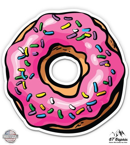 GT Graphics Colorful Donut Sprinkles - 3