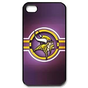 NFL Minnesota Vikings iPhone 4/4s Cases Vikings logo