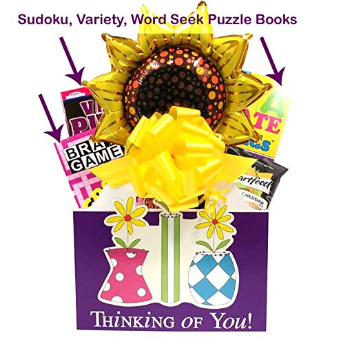 Get Well Soon Gifts for Women: Puzzle Book Gift Basket