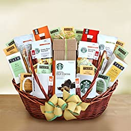 Starbucks Starbucks Office Party Centerpiece Gift Basket