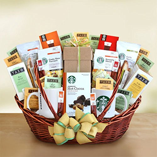 Starbucks Starbucks Office Party Centerpiece Gift Basket by Gift Basket