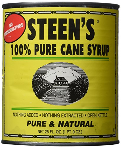 Pure Cane Steens - Steen's 100% Pure Cane Syrup 25oz Can (Pack of 2)