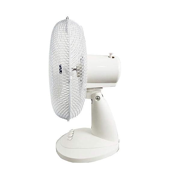 CAOQAO 3 Velocidades Ventilador de Sobremesa Mini Ventilador ...