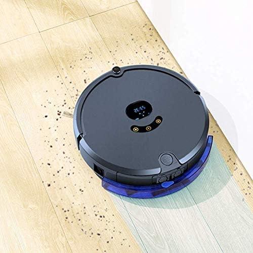KSW_KKW Robot Accueil Balayer Aspirateur Intelligent avec Mobile APP Carte de Navigation Automatique par Glisser-Balayage Tout-en-Une Machine, avec Fonction de Rendez-Vous