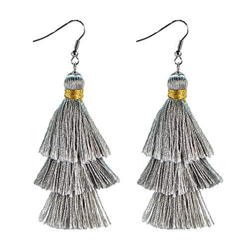 AD Beads Fashion Charm Crystal Silk Tassel