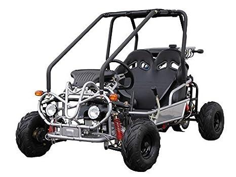 amazon com kandi 110cc 2 seat go kart kd 110gkg 2 electric rh amazon com Silver Streak Go Kart Wiring-Diagram Custom Motorcycle Wiring Harness