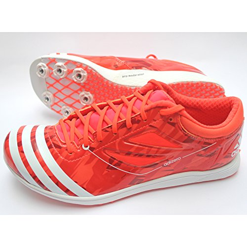 adidas Adizero TJ 2 WC Shoes Athletics Unisex incl Spikes Red Or63InkMr
