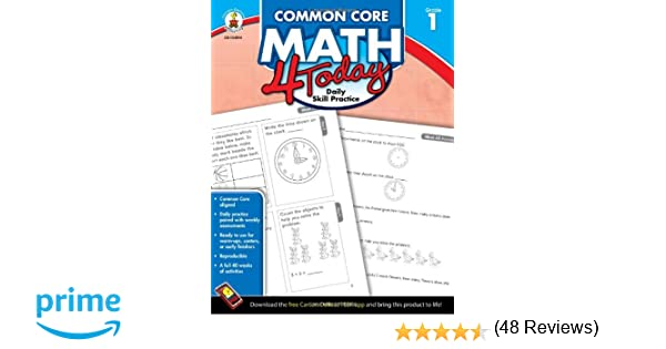 Counting Number worksheets math go worksheets : Amazon.com: Common Core Math 4 Today, Grade 1: Daily Skill ...