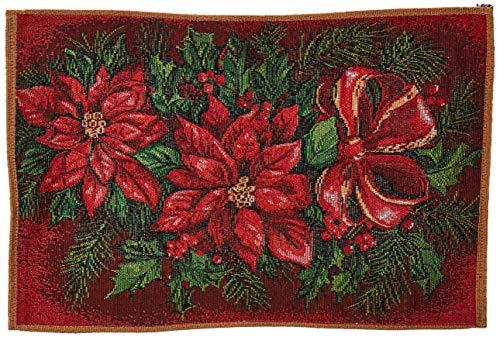 Violet Linen place-mats, 13