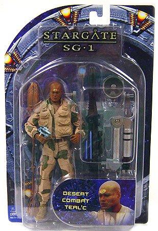 Stargate Series 4 Desert Combat Action Figure: Desert Teal'c