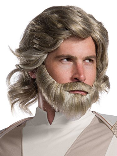 Rubie's Star Wars Episode VIII: The Last Jedi Men's Luke Skywalker Costume Accessory Kit NA One Size ()