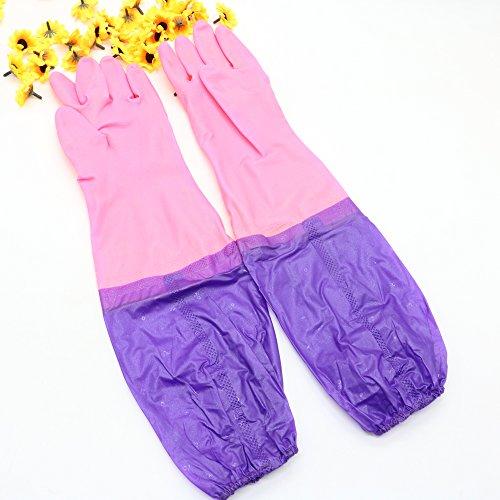 """Price comparison product image IDS 2 Pairs 20"""" Aquarium Gloves"""