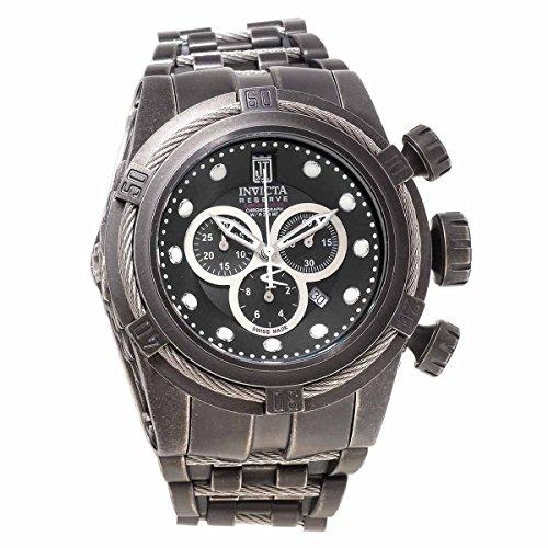 Dial Black Ip Bracelet - Invicta 17833 Men's Jason Taylor Black Dial Black IP Steel Bracelet Chrono Dive Watch